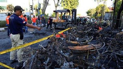 تفجيرات بالي باندونيسيا